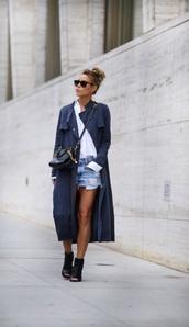 coat,grey,coat gray,long coat,trench coat,blue long coat,tumblr,cute,pretty,navy,blue