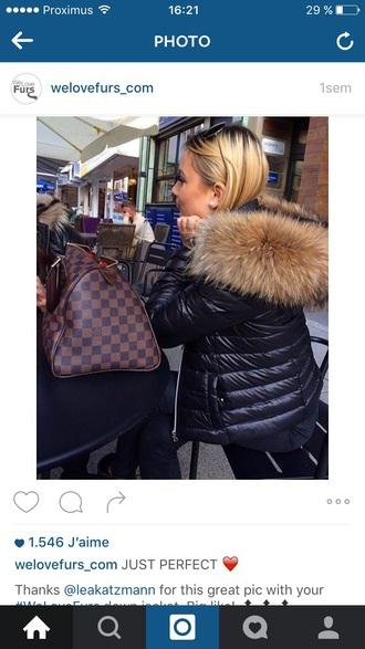 coat doudoune fourrure fur faux fur winter outfits fur coat