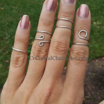 ring in finger jewels trendy knuckle ring above the knuckle ring silver midi rings fashion jewelry knuckle ring etsy the middle