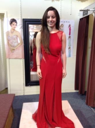 dress red dress jovani lacedress longdress prom dress backless dress