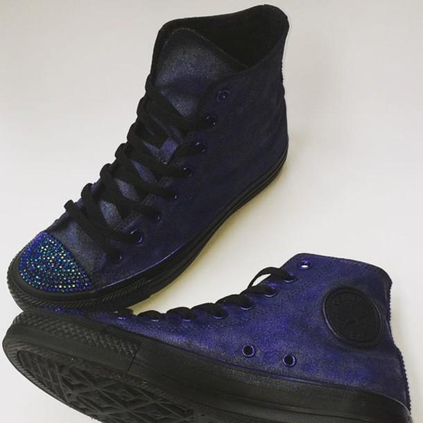 f47975f5ed37 shoes goth glam goth steampunk blogger fashion bloggers custom converse  rhinestone converse black converse glamour