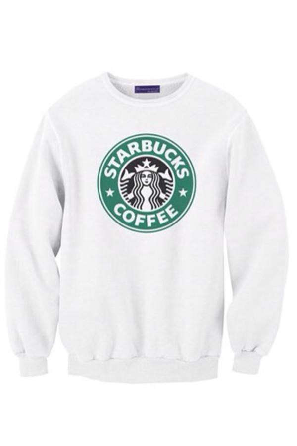sweater starbucks coffee comfy cozy