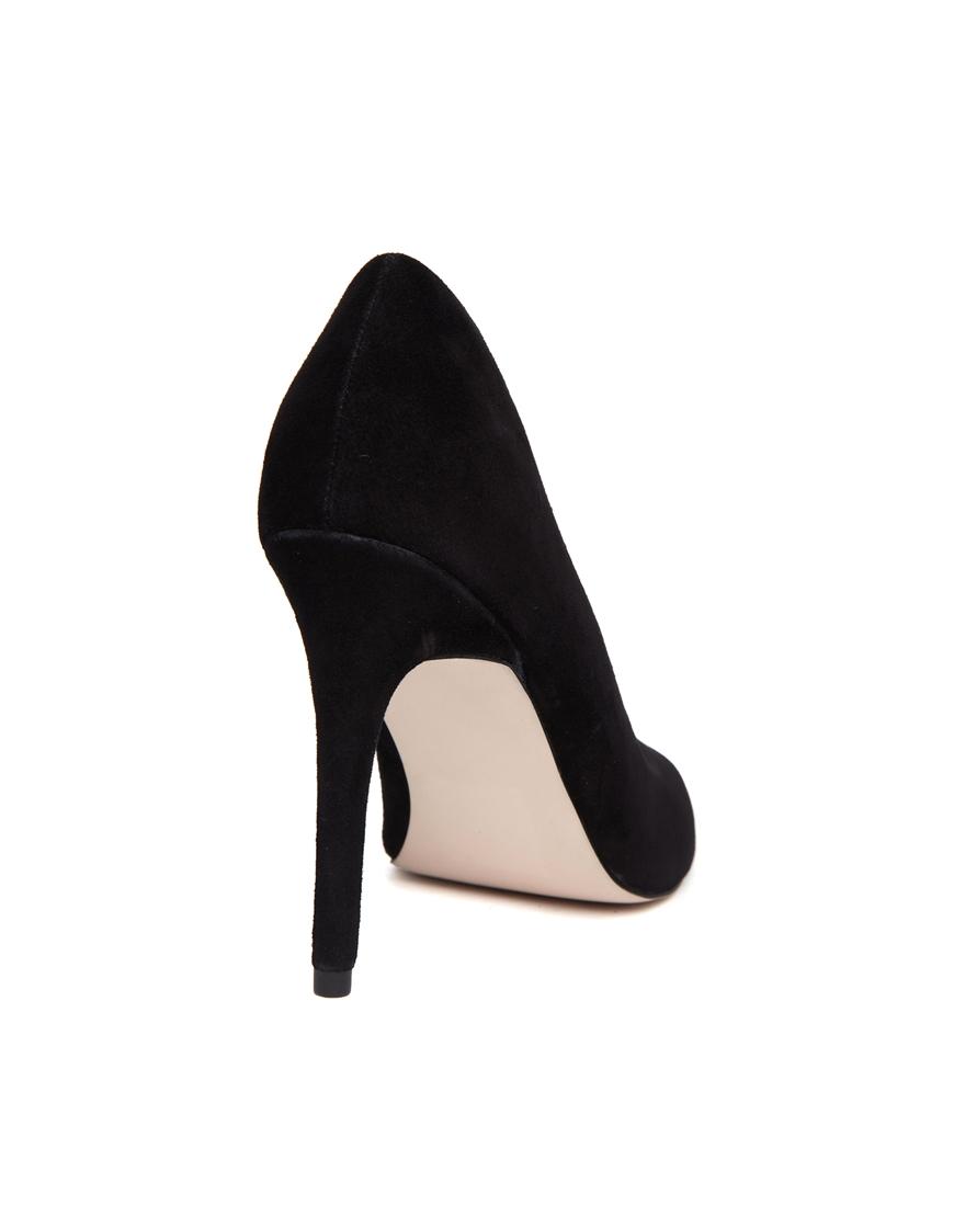 Asos potential suede pointed heels at asos.com