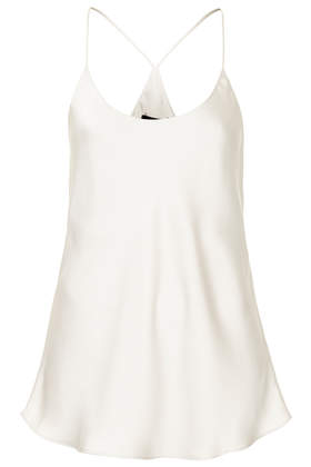 Racer Back Satin Cami - New In This Week  - New In  - Topshop USA
