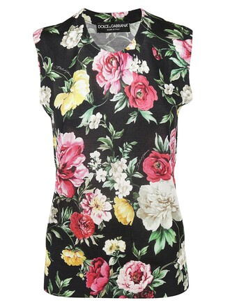 top floral print