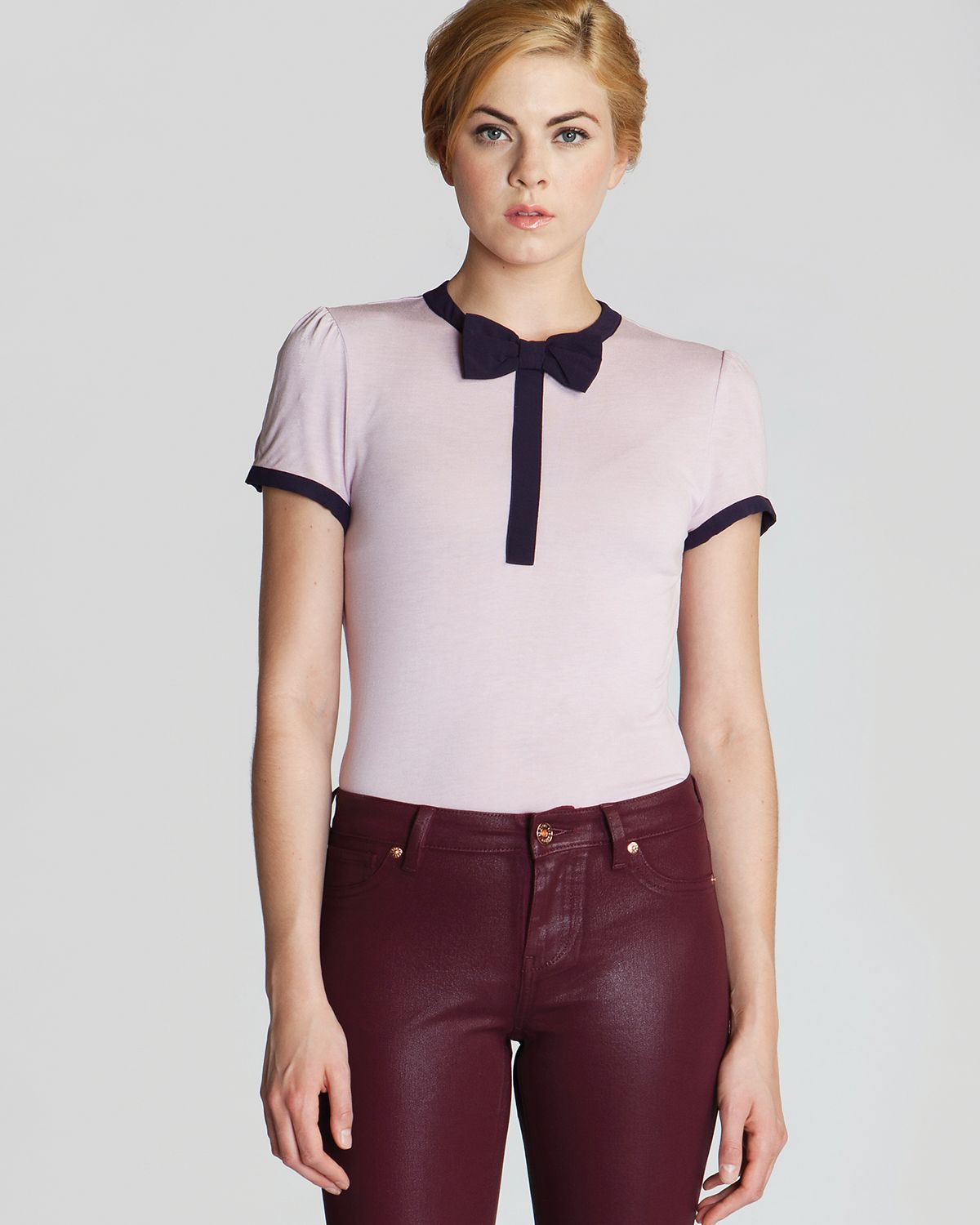 Ted Baker Top - Amaris Bow | Bloomingdale's