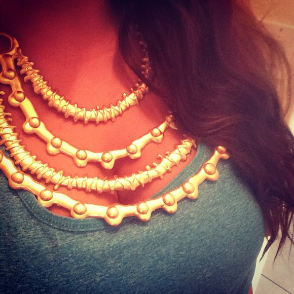 jewels clothes gold necklace trendy trendy jewelry design handmade instagram flawless