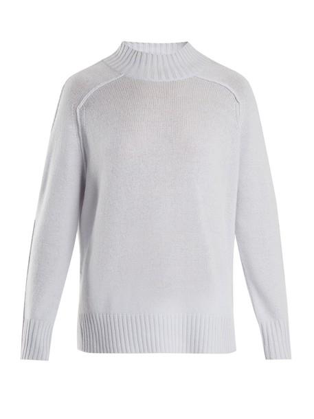 Allude sweater high light blue light blue