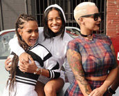 mesh,bra,black,amber rose,christina milian,hoodie,black and white,striped sweater,plaid shirt,choker necklace,white sweater,karrueche