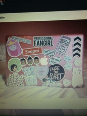 home accessory,pink,stickers,grunge stickers,grunge