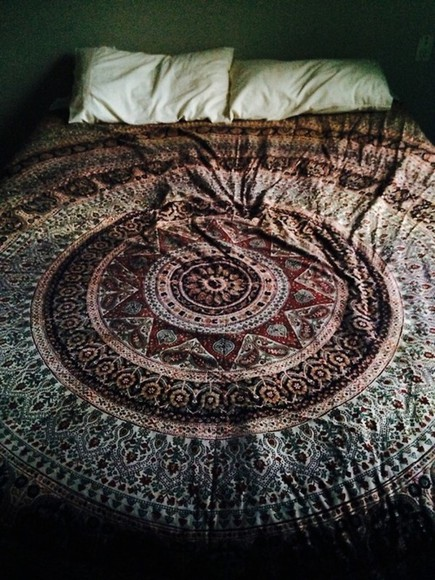 tribal dress indie sweater bedding blanket tumblr just help me find it urban outfitters probably scarf sheet hippy bed sheets bed spread mandala indian cotton jewels