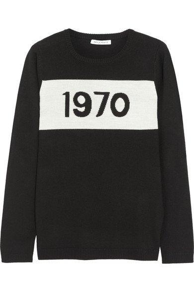 Bella Freud | 1970 merino wool sweater | NET-A-PORTER.COM