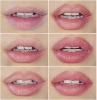 make-up lip liner pink mauve lipstick nyx mac cosmetics