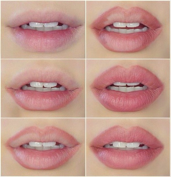 Make-up: lip liner, pink mauve, lipstick, nyx, mac