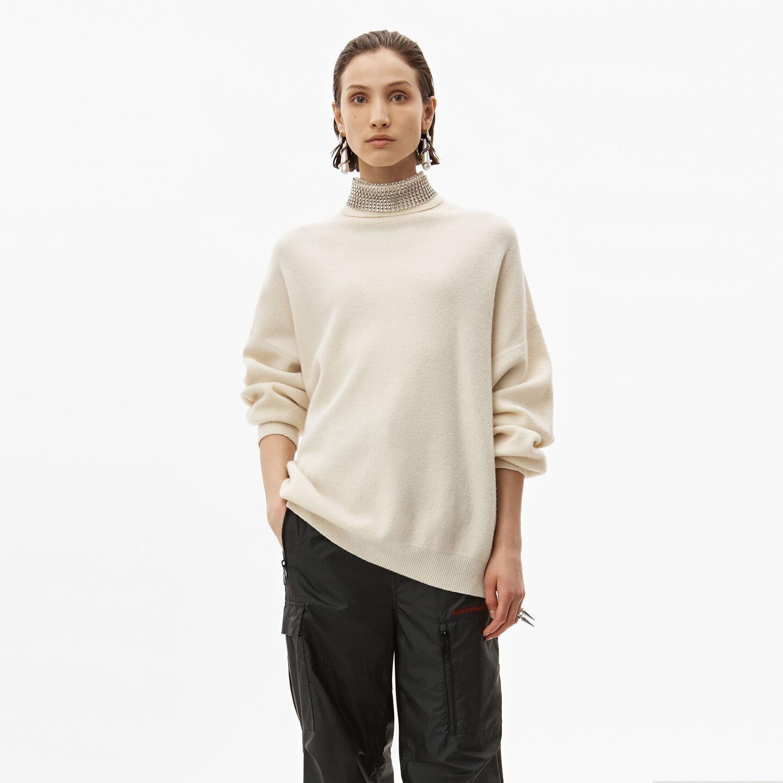 Crystal Turtleneck Pullover