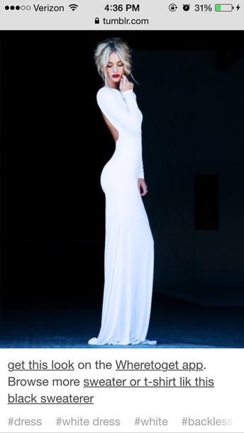 dress white prom dress formal dress ball gown dress