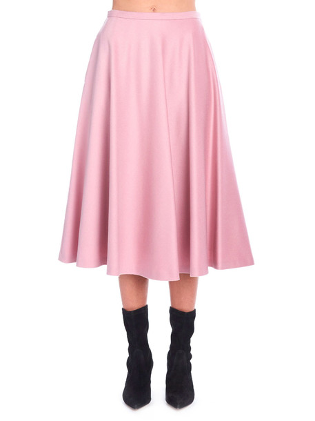 Max Mara 'cabras' Skirt in pink