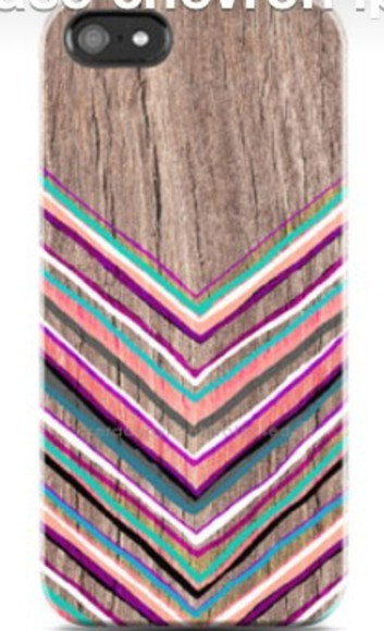 iphone case wood painting aztec