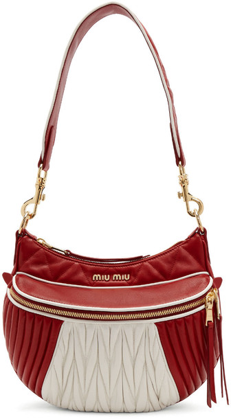 Miu Miu bag white red