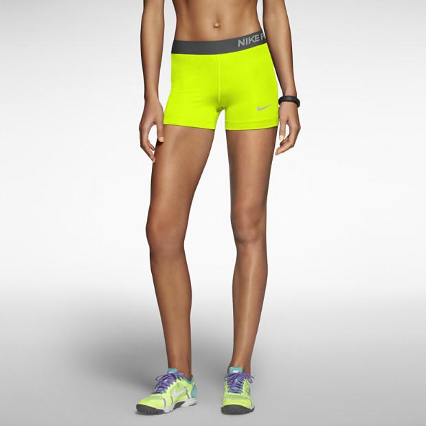 "Nike pro core 3"" compression women's shorts. nike store"