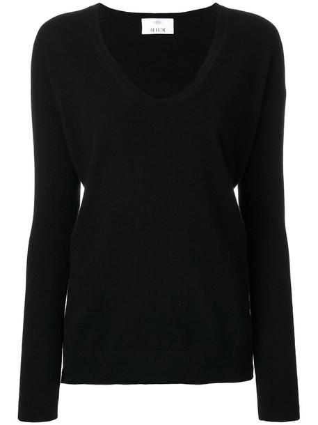 Allude jumper women black sweater