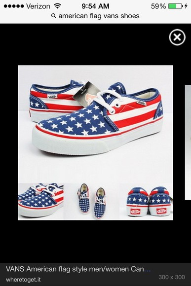 american flag shoes vans shoes