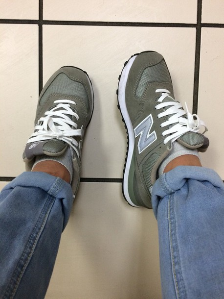 shoes new balance new balance army green
