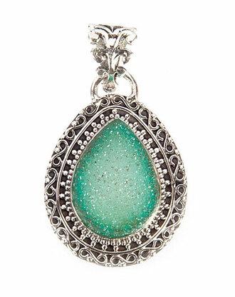 jewels handmade agate druzy pendant agate pendant agate gemstone pendant druzy pendant women pendant green pendant gemstone pendant sterling silver pendant druzy necklace agate necklace