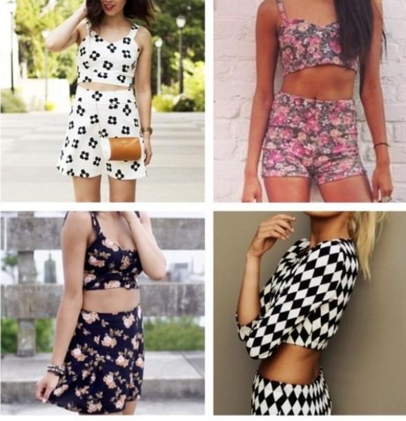 ecc874fef8 dress, matching set, skirt set, short set, matching outfit, set ...