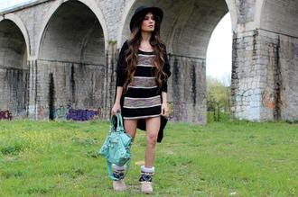 madame rosa dress sweater shoes bag hat jewels