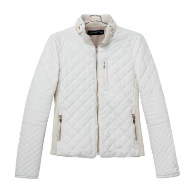White padded jacket