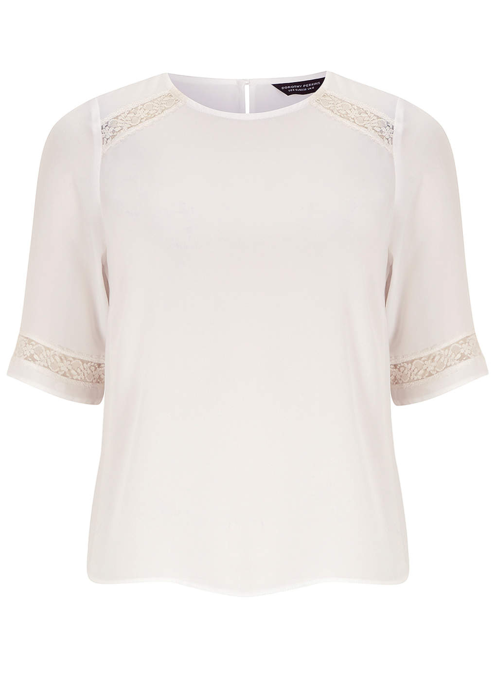 Ivory Lace Insert Tee