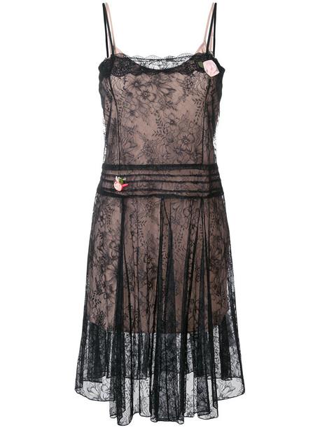 Twin-Set dress lace dress women lace black