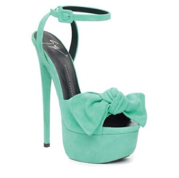 shoes teal