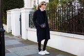 camille over the rainbow,coat,pants,sweater,shirt,bag,sunglasses,shoes
