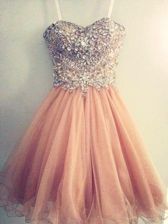 dress pink dress tulle skirt tulle dress prom dress jewels crystal quartz sweetheart dresses sweetheart neckline strapless dresses strapless glitter tulle gold glitter