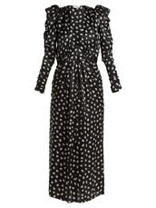 dress,chiffon dress,chiffon,floral,print,silk,white,black