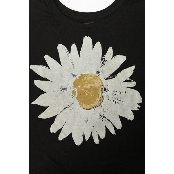 Truly Madly Deeply Sunny Daisy Box Cropped Tee - Polyvore