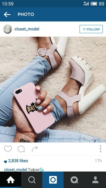 shoes high heels platform shoes instagram iphone cleated sole platforms lug sole blush pink