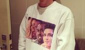 sweater,kim kardashian,kanye west,print,jumper,beyonce,Jay Z,shirt