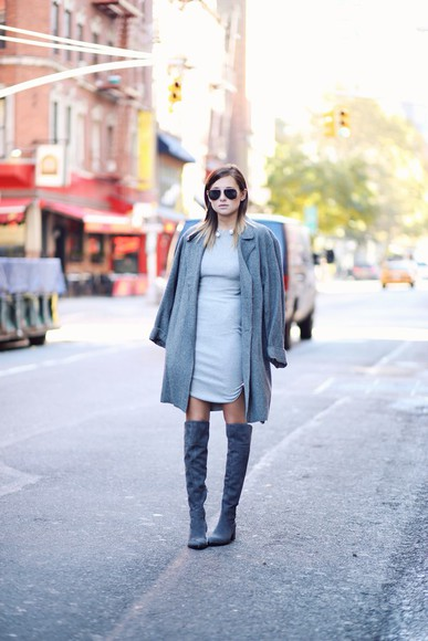 pearl blogger we wore what thigh high boots sunglasses