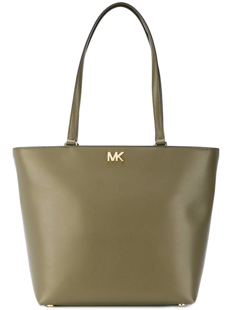 MICHAEL Michael Kors women leather green bag