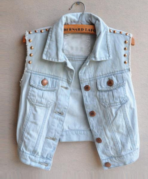 denim jacket blouse