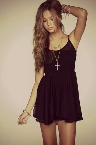 dress black silk classy cute elegant tumblr black dress cute dress bracelets elegant dress tumblr outfit