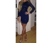 evening dress,evening outfits,short dress,roube,robe,dark,formal event outfit,prom dress,dark blue dress,dark blue,fascinating prom /evening dress,wedding clothes,party dress,longarms,longarmed dress,longarmed,beige dress,beige shoes,beige shoes heels,beige,high heels,heels,beige heels winter boots,dress,shoes