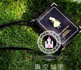 Alice bags magic bag lolita women's crossbody handbag books side backpack