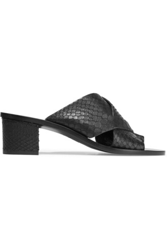 snake sandals leather sandals leather black shoes