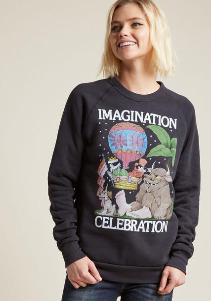 out of print sweatshirt graphic sweatshirt sweater