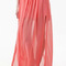 Romwe | romwe double-layered split side coral chiffon maxi skirt, the latest street fashion