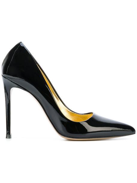 Antonio Barbato women pumps leather black shoes